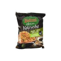 YAKISOBA GUSTO CLASSICO Noodles istantanei verdure salsa con soia 2 porzioni