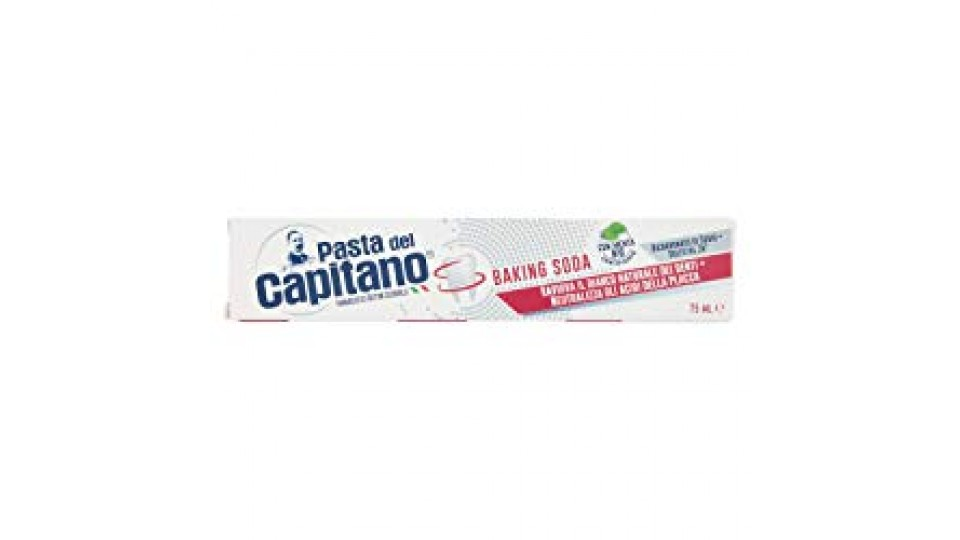 Pasta del Capitano DENTIFRICIO SBIANCANTE BAKING SODA