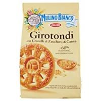 Mulino Bianco Biscotti Girotondi con Granelli di Zucchero di Canna