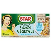 Star, Dadi Vegetali Meno Sale