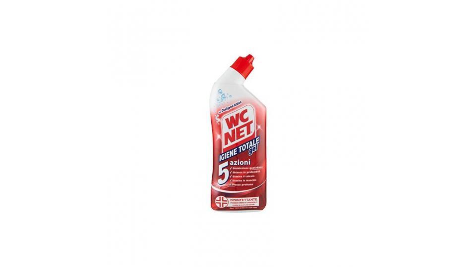 Wc Net - Pulitore Liquido, Igiene Totale Gel, 5 Azioni