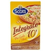 Riso Scotti - Riso Integrale 10' - Riso per Risotti , Insalate e Contorni