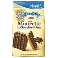 Mulino Bianco Mini Fette con Cioccolato al Latte, per una Colazione Ricca di Gusto