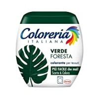 Coloreria Italiana Grey Colorante Tessuti e Vestiti in Lavatrice, Verde Foresta