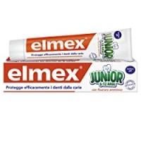 Elmex - Dentifricio Junior 6-12 Anni - Dentifricio Per Bambini Con Fluoruro Amminico - Protegge Efficacemente I Denti Dei Bimbi Dalla Carie - Anticarie - 0% Coloranti