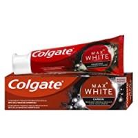 Colgate Dentifricio Sbiancante Max White Carbon, Sbiancante Minerale Delicato