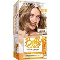 Garnier Tinta Capelli Belle Color, Colore Luminoso e Riflessi Naturali, Copre il 100% dei Capelli Bianchi, Biondo Cenere Naturale, Confezione da 1