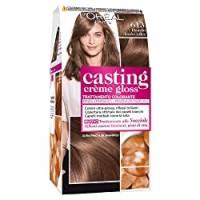 L'Oréal Paris Tinta Capelli Casting Creme Gloss, senza Ammoniaca per una Fragranza Piacevole, 613 Biondo Iced-Coffee, Confezione da 1