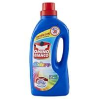 Omino Bianco Detersivo Lavatrice Liquido Color+, Specifico per Capi Colorati, Tecnologia Salva i Colori e Cattura il Grigiore, 30 Lavaggi
