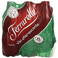 Ferrarelle Acqua Minerale Effervescente Naturale, 6 x 0.5L