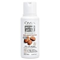 Omia Sapone Intimo Eco Bio Ph 5.5 Olio di Argan, Detergente Intimo