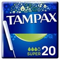 Tampax Super Tampons con applicatore