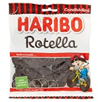 HARIBO Rotella Gusto Liquirizia 175 Gr Sfuse Caramelle Morbide Gommose Irresistibili Per Adulti E Bambini Perfette Per Party Feste E Dolci Momenti Di Relax