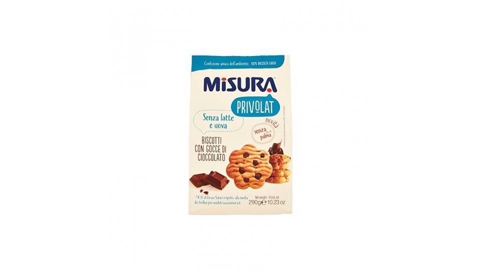 Misura Privolat Biscotti con Gocce di Cioccolato