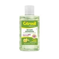 Citrosil - Gel di Alcool Disinfettante per Mani, Igienizzante Gusto Limone e Timo, per Mani Morbide e Profumate con Proprietà Antibatteriche - Flacone da
