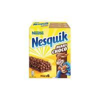Nesquik Barretta Maxichoco Cereali al Cioccolato su Strato di Cioccolato al Latte