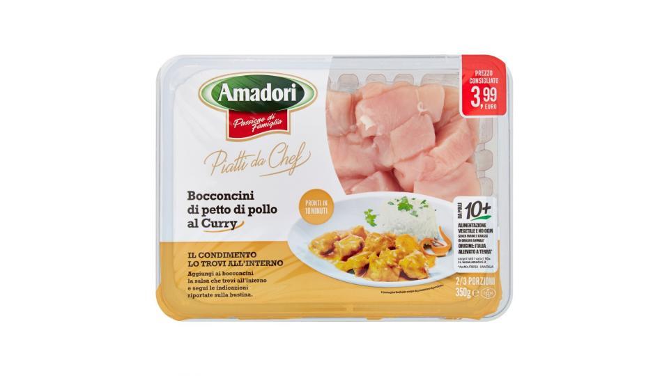 Amadori Bocconcini di Petto di Pollo al Curry