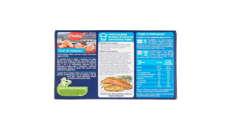 Findus 2 Fiori di Salmone