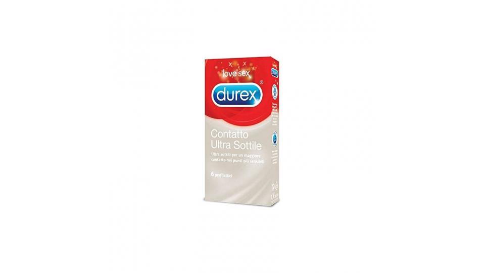 Durex Contatto Ultra Sottile Profilattici