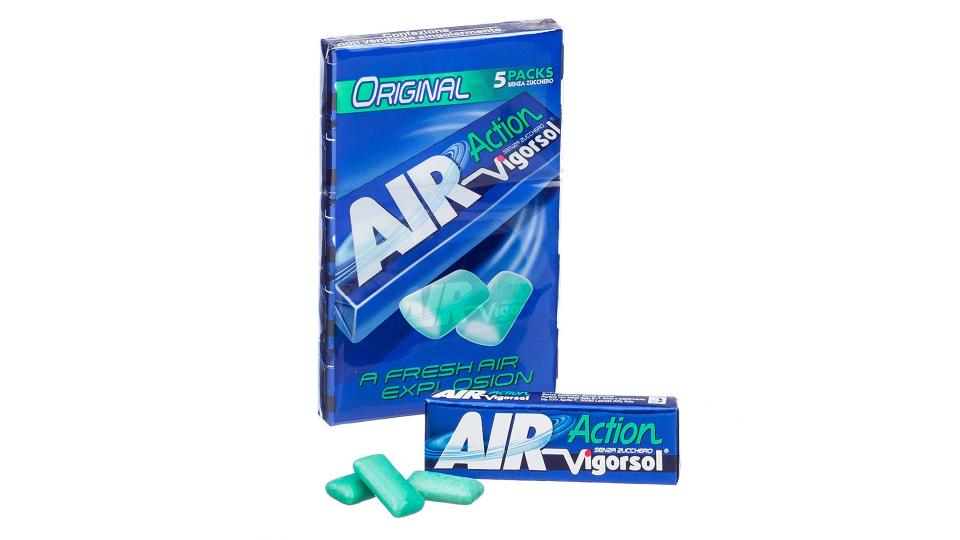 Vigorsol Air action black ice
