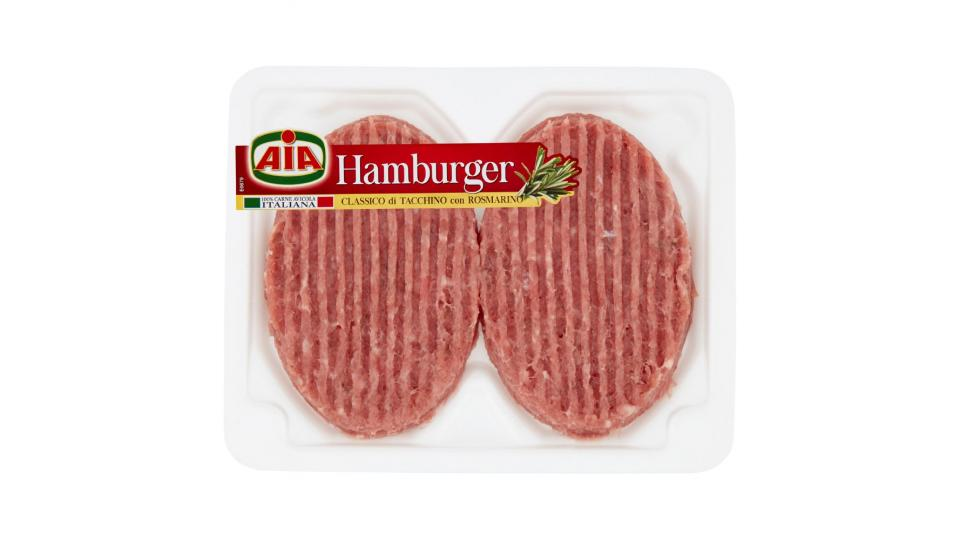Aia Classico Hamburger con Tacchino e Rosmarino
