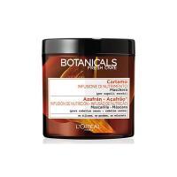 L'Oréal Paris Botanicals Cartamo Infusione di Nutrimento Maschera per Capelli Secchi, 200 ml, Senza Siliconi, Senza Parabeni, Senza Coloranti