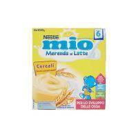Nestlé Mio Merenda al Latte Cereali da 6 Mesi 4 Vasetti Plastica da