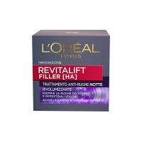 L'Oréal Paris Revitalift Filler Crema Viso Anti-Rughe Rivolumizzante Notte