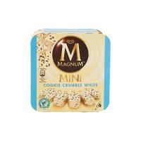 Magnum Mini Cookie Crumble Bianco