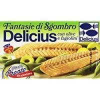Delicius Filetti di Sgombro all'olio di oliva