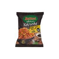 YAKISOBA GUSTO POLLO  Noodles istantanei verdure salsa con soia 2 porzioni