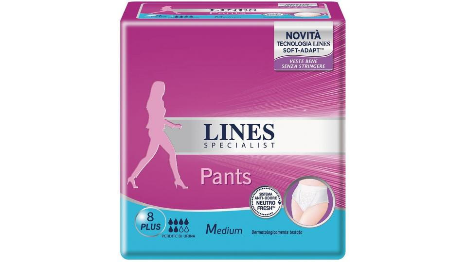 Lines Specialist Pants Plus M x