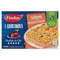 Findus I Gratinati Salmone con Melanzane e Pomodori