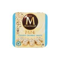 Magnum Mini Cookie Crumble White