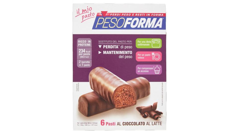 Pesoforma, Barrette al Cioccolato Gusto Cocco