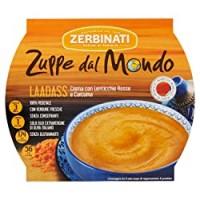 Zerbinati Zuppe dal Mondo Laadass Crema con Lenticchie Rosse e Curcuma