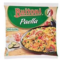 BUITONI PAELLA SENZA GLUTINE riso con molluschi, crostacei e verdure grigliate surgelato