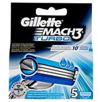 Gillette Mach3 Turbo Lame per Rasoio da Uomo
