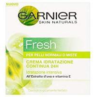 Garnier Fresh Crema idratazione continua 24h per pelli normali o miste