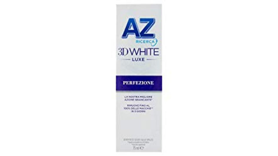 AZ Ricerca Dentifricio 3D White Luxe Perfezione