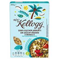 W.K Kellogg Senza Zuccheri Aggiunti Granola Frutta Secca