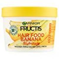 Garnier Fructis Hair Food Banana - Maschera nutriente 3in1 per capelli secchi