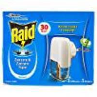 Raid, Liquido zanzare & zanzare tigre 1 diffusore + 1 ricarica