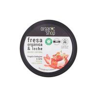 Mousse Corpo alla Fragola biologica & Latte Organic Shop