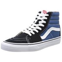 Vans Sk8-Hi, Sneakers Alti Unisex - Adulto, Blu (Navy), 44.5 EU