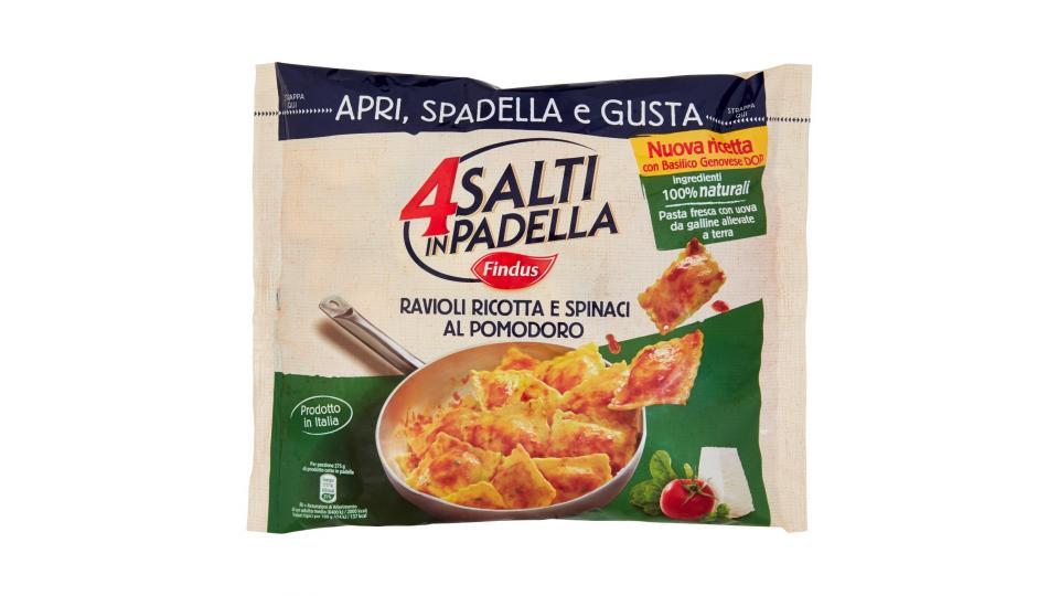 Findus 4 Salti in Padella Ravioli Ricotta e Spinaci al Pomodoro