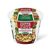 Zuppa con Verdure & Pollo