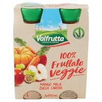 100% Frullato Veggie Mango Mela Zucca Carota