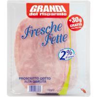 Prosciutto Cotto Aq 2% Grassi