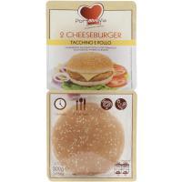 Cheeseburgher Pollo e Tacchino